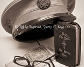 PHOTOGRAPH, WWII Army Military Vintage Look Photo