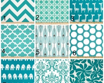NEW  Window Curtain Valance Premier Prints TURQUOISE COLLECTION Great for Kitchens-Dining Rooms-Bedrooms
