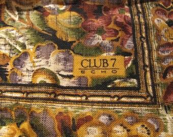 SALE Winter Wool Scarf by ECHO Club burgundy