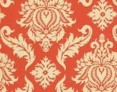 Closing Shop Fabric Yardage - Joel Dewberry Aviary 2 - Damask - Saffron - Free Spirit Fabrics - 1 Yard