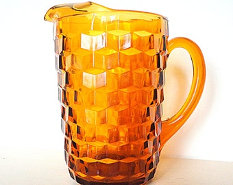 1970 Pitcher made by Indiana Glass in Whitehall Pattern