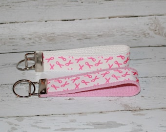 Breast Cancer Awareness Key Fob- Donation to Susan G. Komen Breast Cancer Awareness Month
