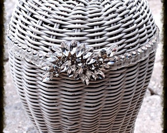 Swarovski Crystal Ivory Headband