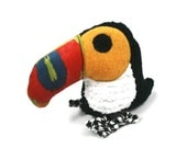 Dog Toy Toucan Extra Durable Double Fabric Layer Construction