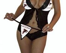 Atlanta Falcons Garter with Lace