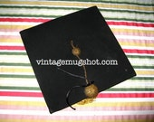 "University Of California College Professor's Graduation Cap  Original Sz 7 1/2"" BEARS"