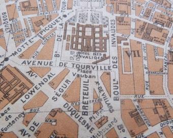 1930s Plan de Paris - Old map of Paris - Original Paris vintage map