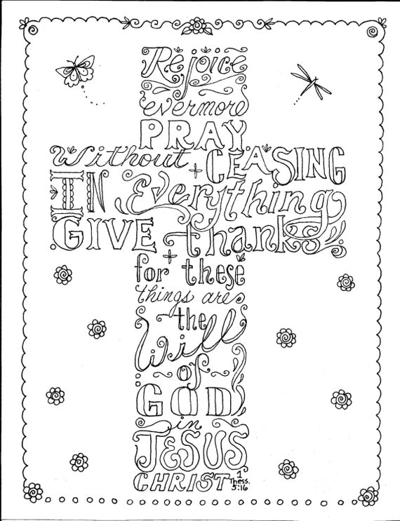 Instant Download Scripture Cross You Color And Create Then Cross Color Page