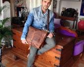 Flatiron laptop bag, handmade leather bags, messengers, large laptop bag, handmade leather messenger bags for work & travel by Aixa Sobin
