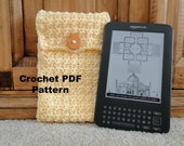 Crochet PDF PATTERN for I-Pad  Kindle or Knook