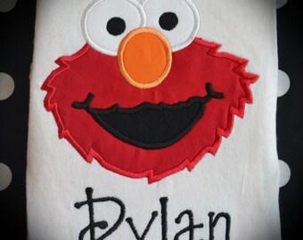 Personalized Boutique Elmo Shirt