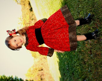 Toddler christmas dress | Etsy