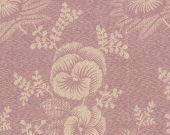 Plum Sweet - Pansy in Lilac by Blackbird Designs for Moda Fabrics