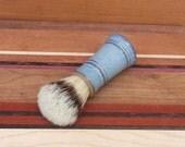 Shaving Brush with Boars Hair Bristles For Men's Grooming Soft Stripe
