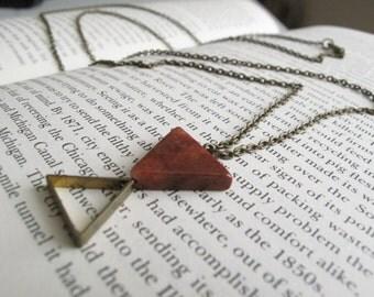 Geometric Necklace // geometric diamond necklace // geometric Jewelry // Geometric diamond Jewelry // Boyfriend Girlfriend // mixed metals