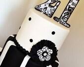 Custom Personalized Bling Cake Topper