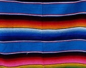 Serapes Large Mexican Sarape Serapes Saltillo Serapes Blanket Bed Cover 5 x 7 feet accessories