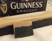 Crystal 2 loaves of Beer Soap with Guinness . MAKES 20 bars at 4.oz each Great for party favors Made to look like a pint of Beer. Guy Man