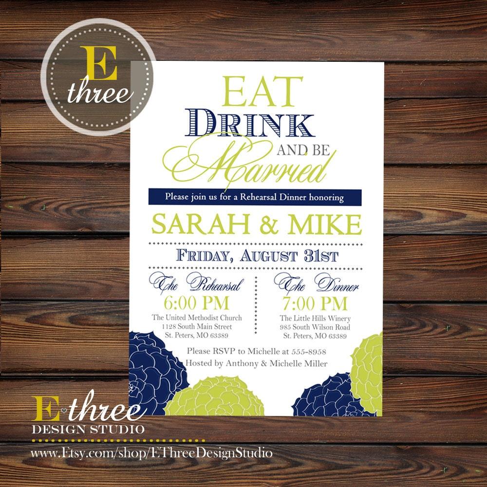 Wedding Rehearsal Invitations: Floral Rehearsal Dinner Invitations Wedding Rehearsal