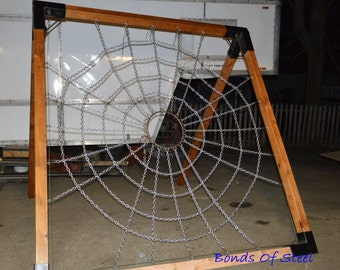 Spider Web Suspension Frame Mature Bonds of Steel BDSM Gear Dungeon Equipment