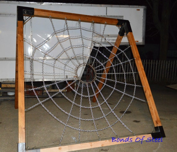 Spider web suspension frame mature bonds of steel by for Furniture y equipment