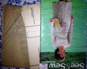 Butterick See & Sew #5857 Women's top/skirt pattern - uncut
