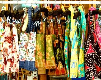 SALE Market Bag, Choose from 4 Fabrics, Amy Butler, Martha Negley,