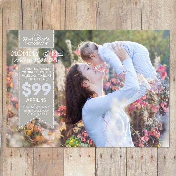 INSTANT DOWNLOAD Mothers Day Marketing Board Mini Session