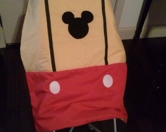 Mickey Mouse Stroller Quilt