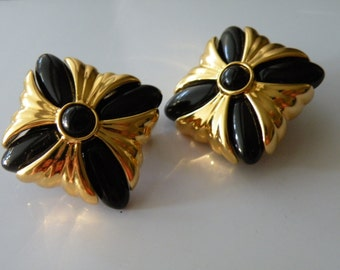 20% off VERDUCCI clip - on earrings. Plastic, gold plate metal.