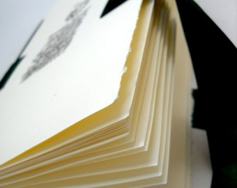 Midori Style Sketchbook, White Sun, Softcover Sketchbook with Removeable Pages