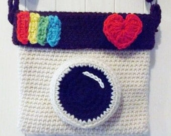 Crocheted Insta Purse