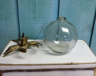 Glass Fishing Float Northwest Glass Beach House Style CastawaysHall READY TO SHIP