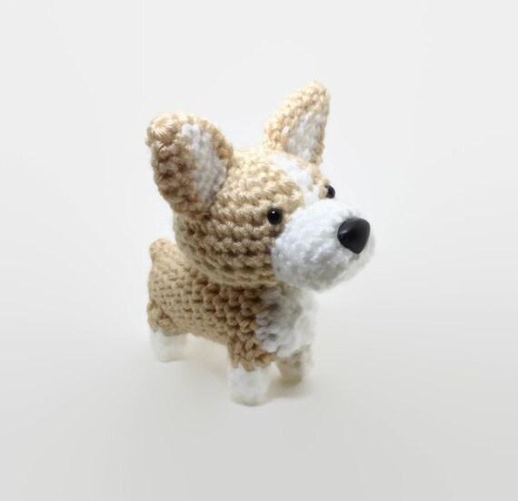 Welsh Corgi Crochet Dog Amigurumi Dog Stuffed Animal Pembroke Corgi / Made to Order