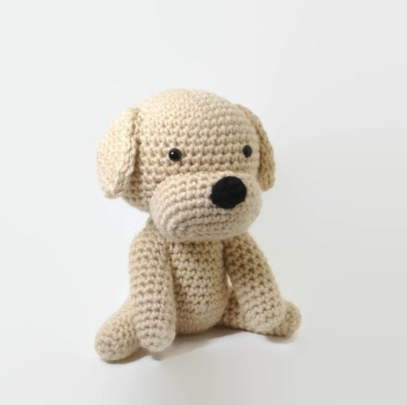 SALE / Dog Stuffed Animal Amigurumi Puppy Crochet Dog di ...