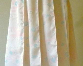 Kimono Silk Wrap Skirt