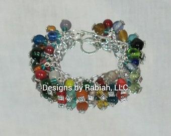 Vintage Candy Charm Bracelet