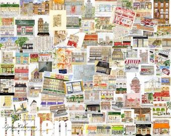 Harlem Collage Poster