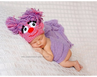 Newborn Abby Cadabby Hat