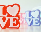 LOVE SOAP - Choose Color, handmade, glycerin, natural, girl, wedding, hearts