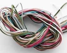 SALE 25 Yards Faux Suede Cord 3mm Grab Bag - Assorted Fun Colors
