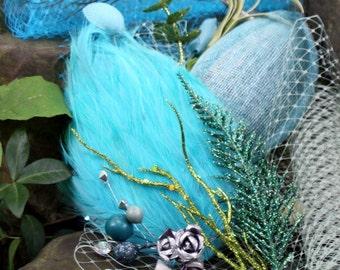 Natural Mermaid DIY Fascinator Kit