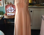 Vintage Peach and Lace Ma...