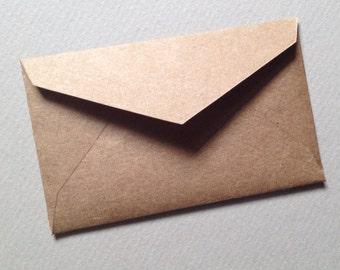 Brown kraft envelope | Etsy