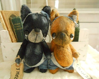 Sewing Pattern For vintage dog 6.5 - 7 Inch