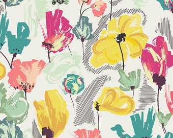Wild Beauty Pineapple  RPT-1702 - RAPTURE by Pat Bravo - Art Gallery Fabrics  - By the Yard