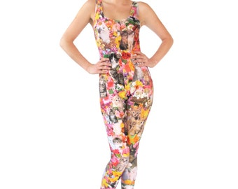Kitty Garden Party Catsuit