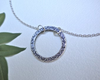 Circles on Circle Necklace
