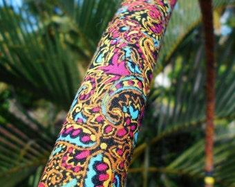 WiLd cHiLd pAiSlEy Collapsible Fabric Hula Hoop // Custom Tubing, Diameter & Grip Tape, Hiptronic EXCLUSIVE