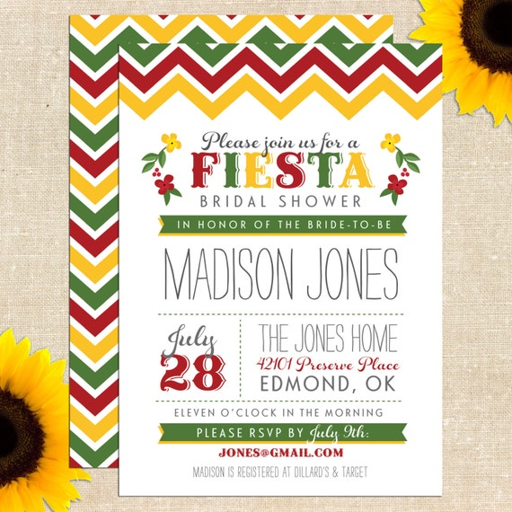 Mexican Fiesta Invitation as awesome invitation ideas
